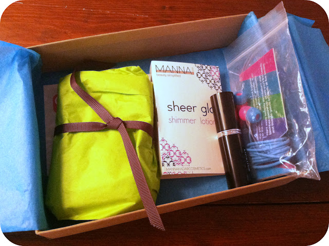 birchbox glamour subscription box review