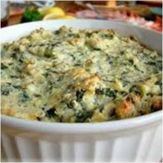Easy Dip Recipe; Spinach Artichoke Dip