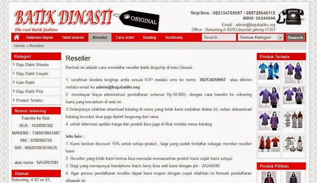 bajubatiks.org toko online batik terpercaya