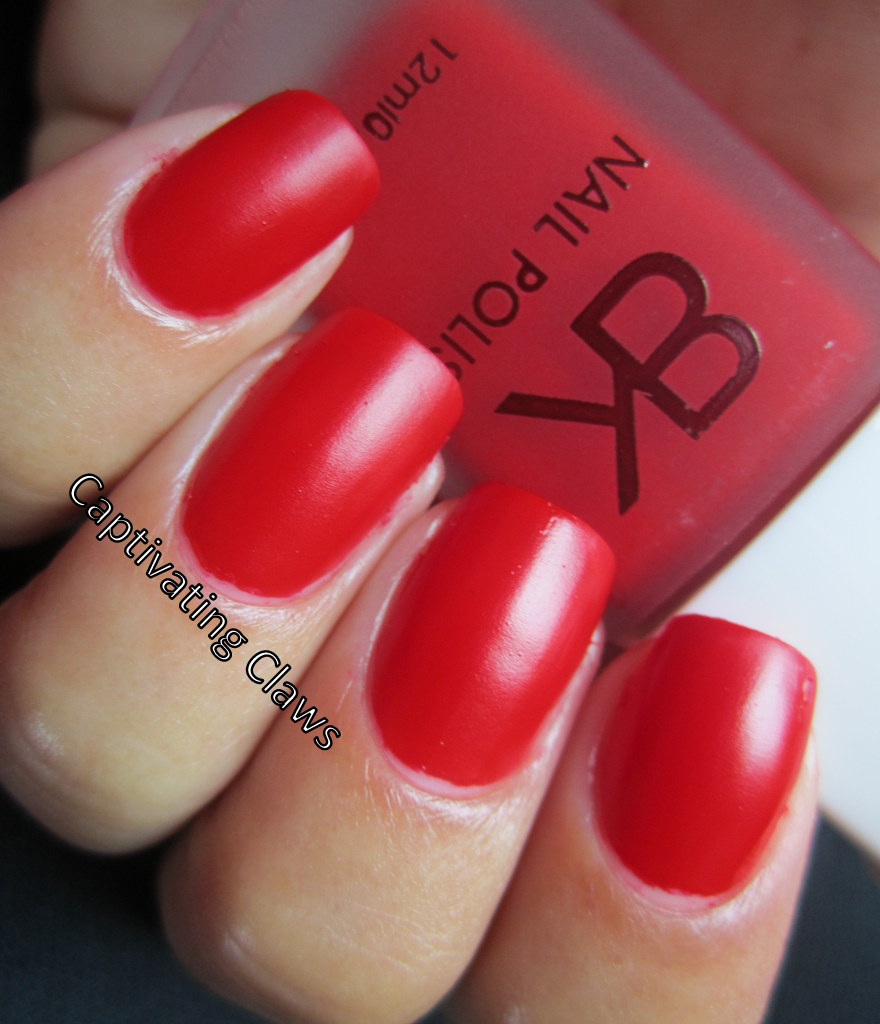 Captivating Claws: BK Matte Polishes