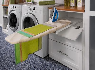 Cách bố trí khu giặt là
