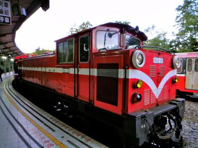 Alishan Red Train Taiwan