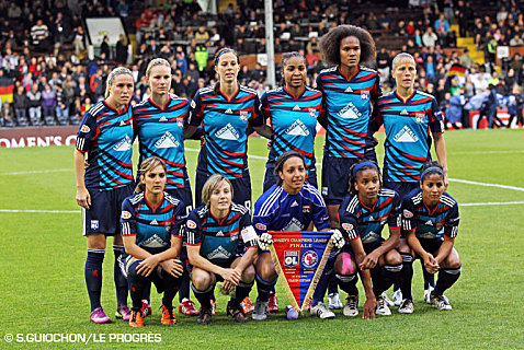 equipe de foot lyon feminine