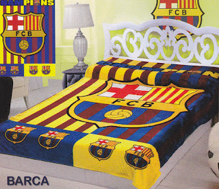 Selimut Sutra Panel Belladona Barca