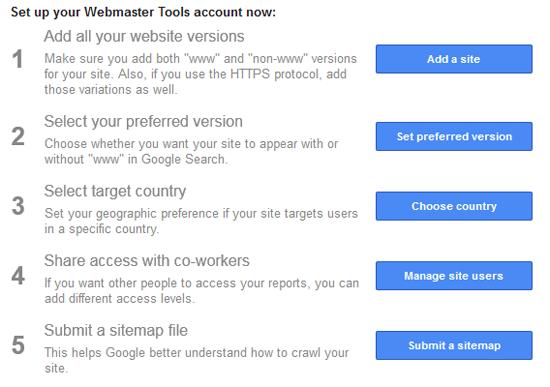 Tips SEO Blog - 5 Cadangan Google Webmaster Bolehkan Blog Berada di Enjin Carian