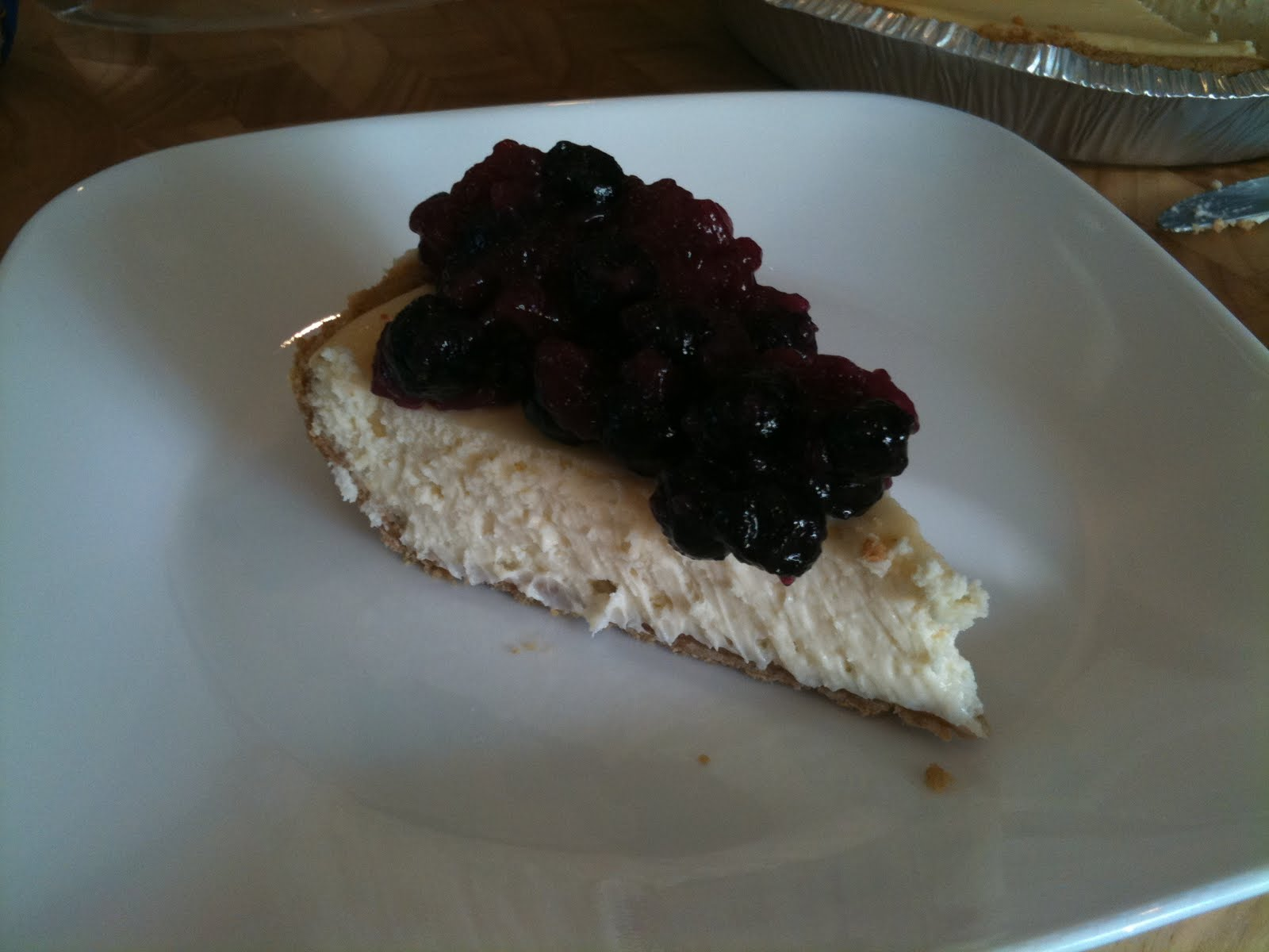 My Favorites: Easy Sour Cream Cheesecake