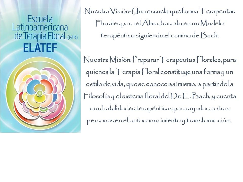 Escuela Latinoamericana de Terapia Floral (MR)