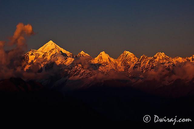 Panchchuli Peaks..The Himalayas