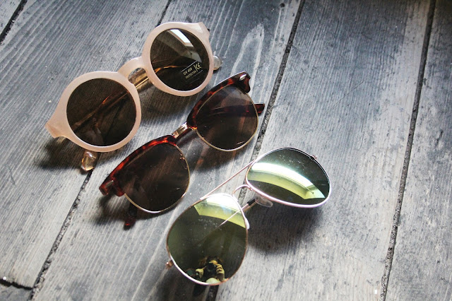 3 Sonnenbrillen aus Chinabestellung