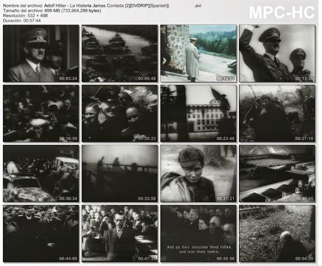 Adolf Hitler|La Historia Jamas Contada|2 DVD|MEGA|