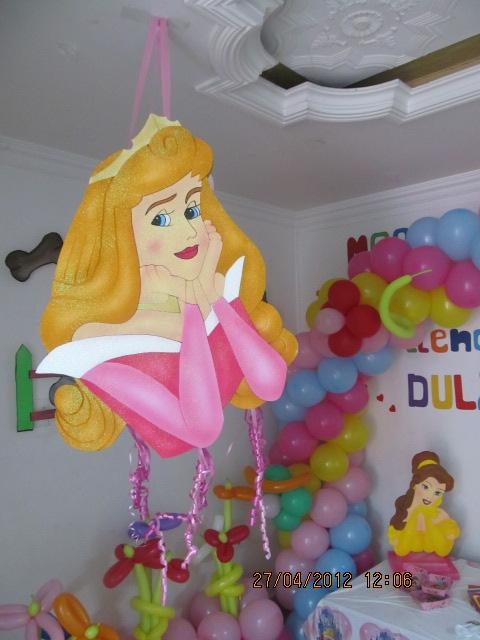 Fiestas princesas de disney fiestas tematicas infantiles for Decoracion de princesas