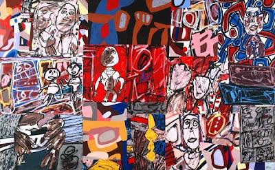 Jean Dubuffet - vicissitudes,1977.