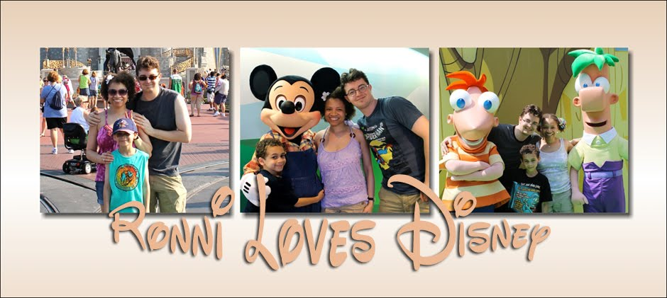 Ronni Loves Disney!