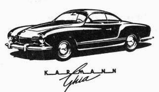 Italian Design Karmann Ghia