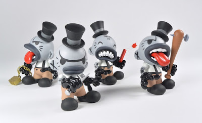 The ROWDY Gents Custom Figure Series by MAD