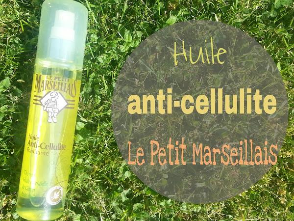 Test : L'huile anti-cellulite tonifiante Le Petit Marseillais