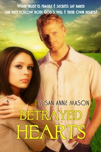 Betrayed Hearts by Susan Anne Mason Cover
