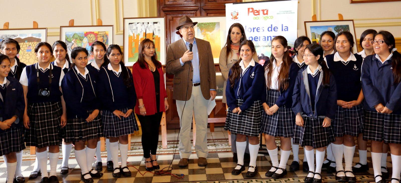 Exposición pictórica Perú Ecológico Colores de la Esperanza