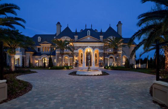Luxury Mansion Estate House Plans