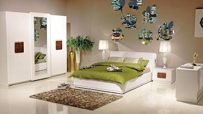 Bellona+zebrano+beyaz+yatak+odasi+takim+modeli Yatak Odası Takımlarında 2012 Rüzgarı