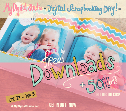 Stampin' Up! Digital Scrapbooking Day Week-Long Event