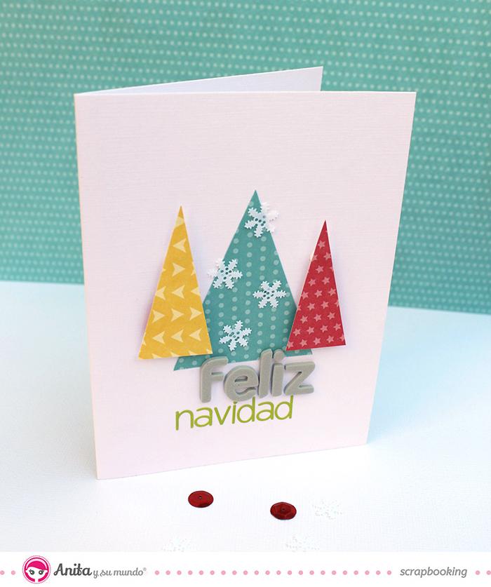 Tarjetas navide as para anita y su mundo caroli schulz - Postales navidenas para hacer ...