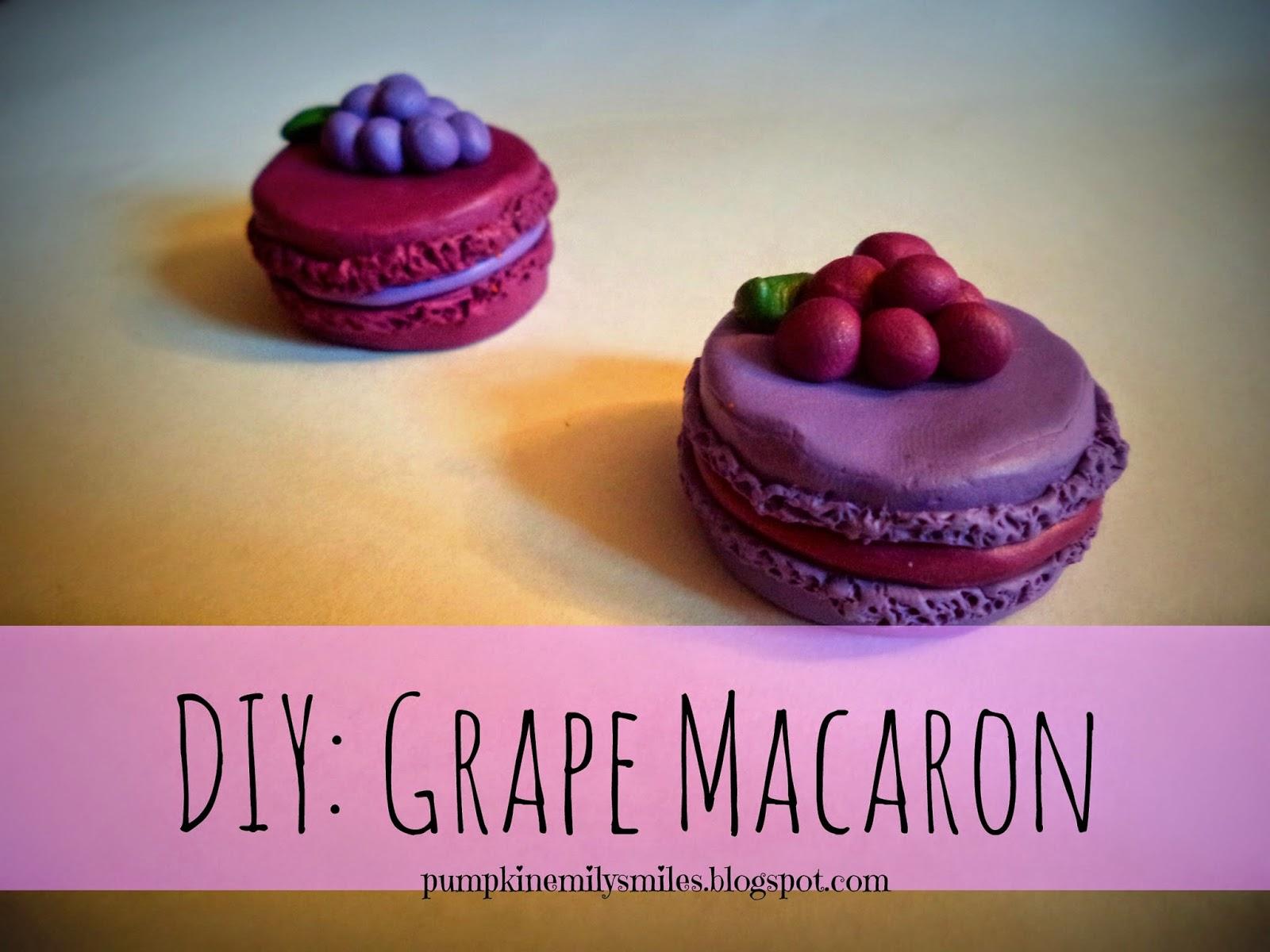 DIY: Grape Macaron