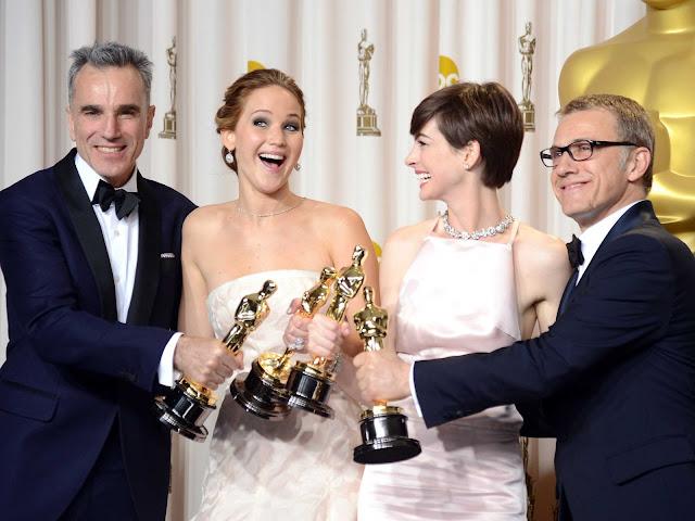 Oscar winners 2013