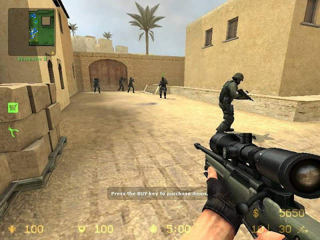 Free Download Counter Strike: Source PC Game