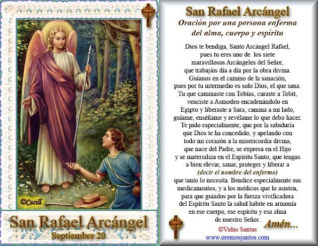 imagen arcangel san rafael: