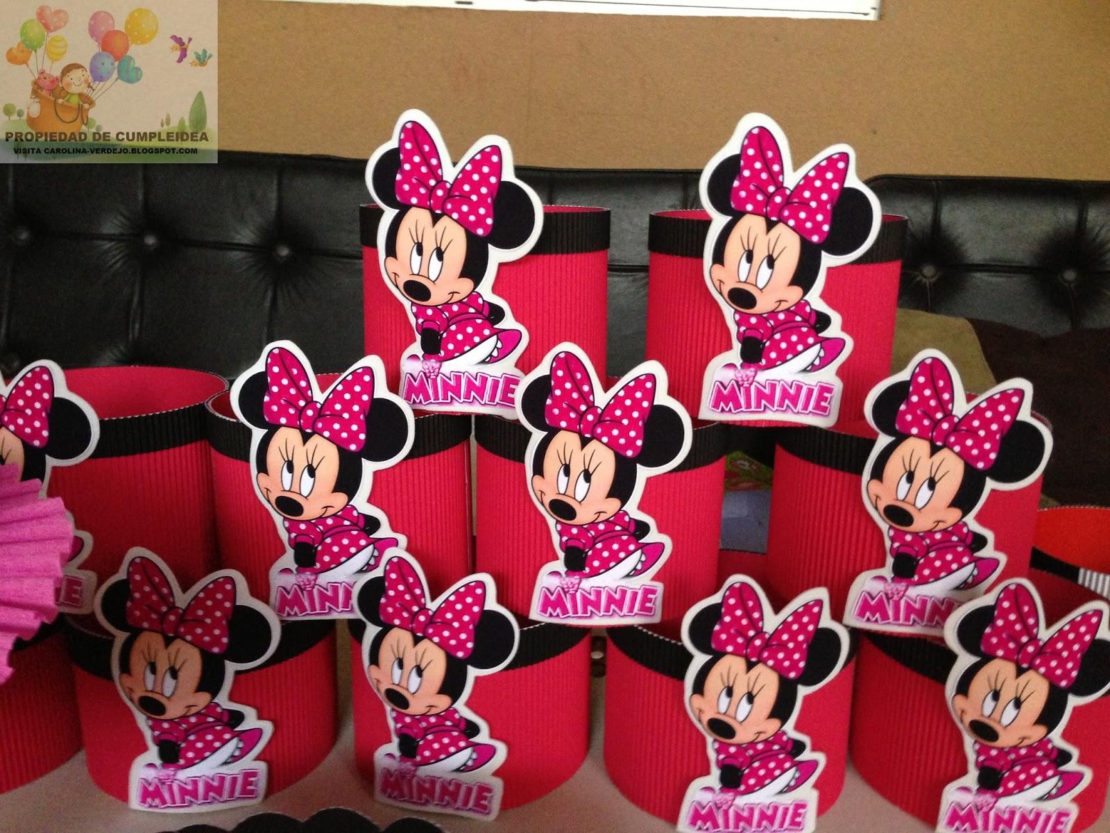 Minnie decoraciones fiestas infantiles for Decoracion de minnie mouse