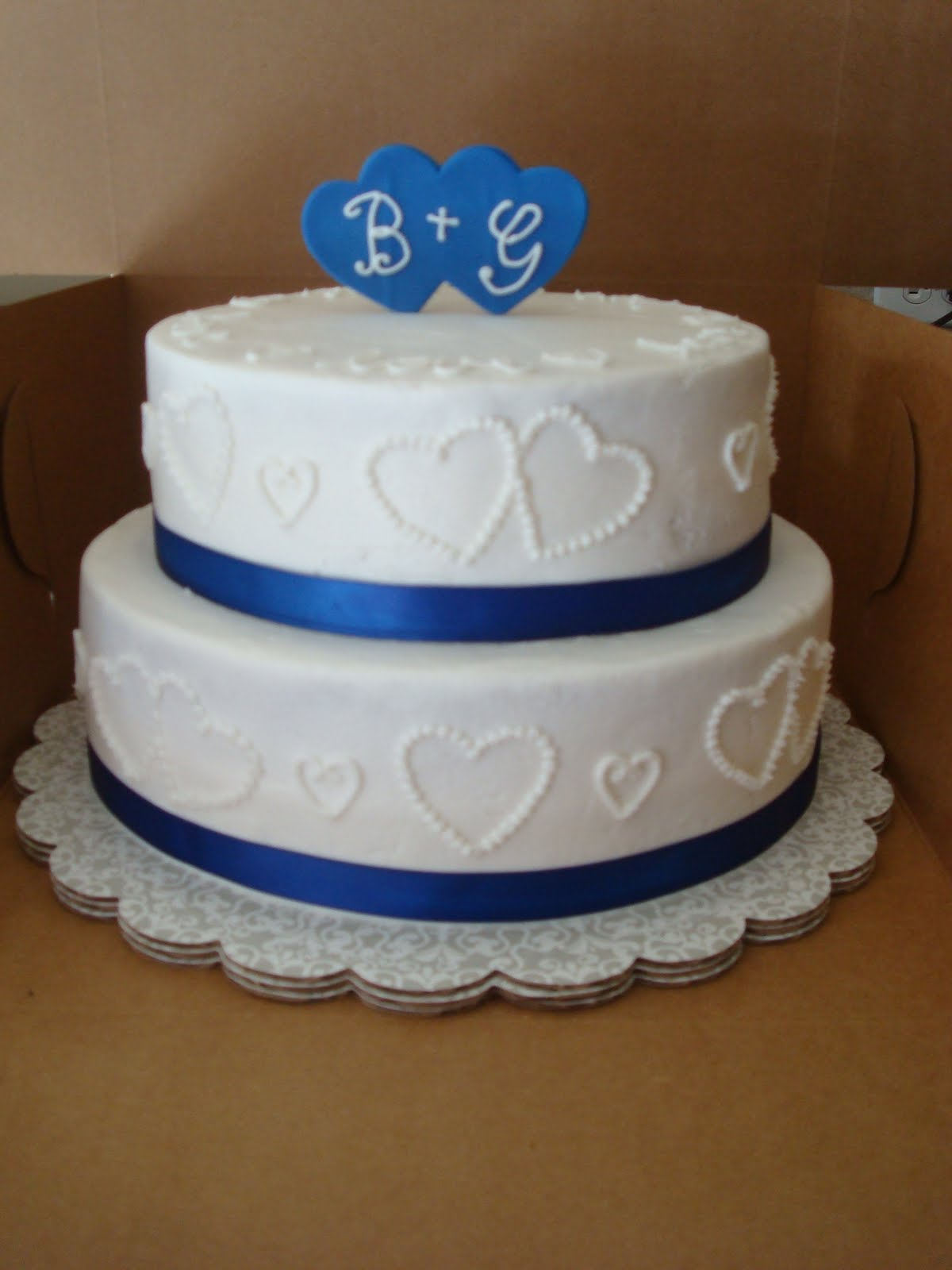Sugar boo sweets wedding shower cake for Wedding cake layer
