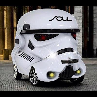 """фото Автомобиль по мотивам """"Звёздных войн"""" Star wars car"""