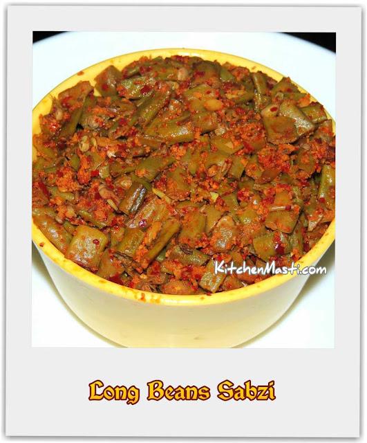 Long Beans Sabzi