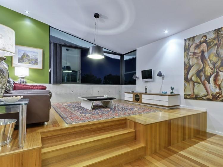 Home Plan: Contemporary Concrete Home Plans