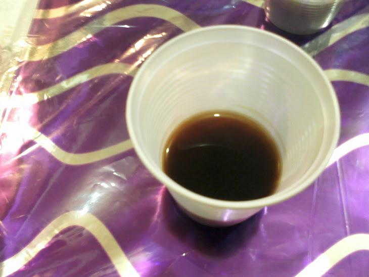 um dedinho de café com açucar