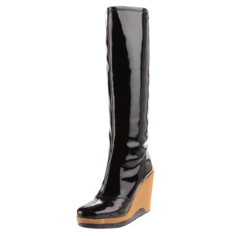 Rain Boots With Wedge Heel