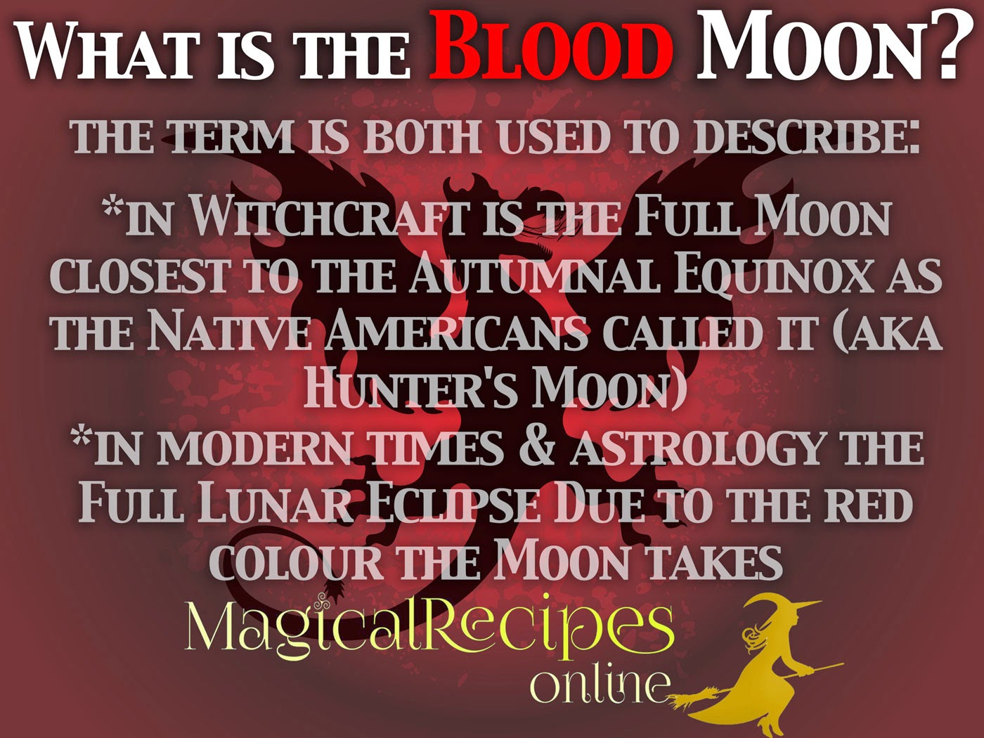 Red moon dates