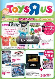 Catalogo Toysrus marzo 2013