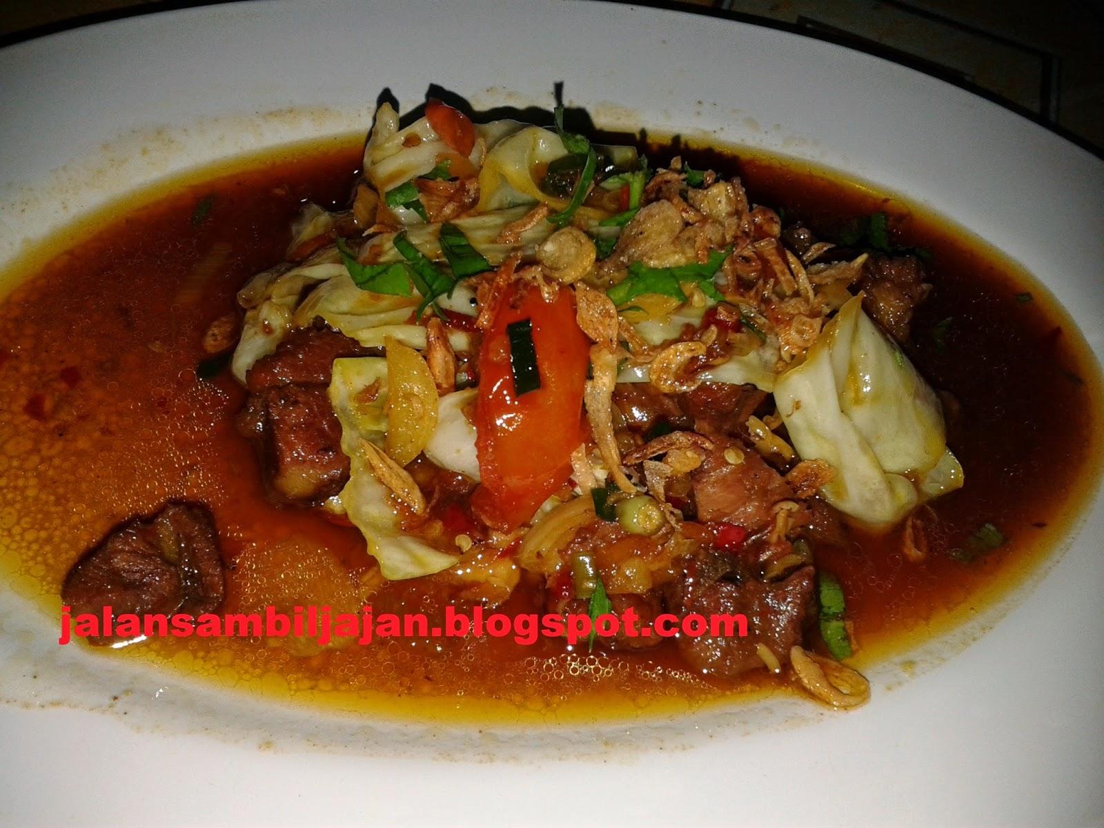 """Tongseng Daging """"Warung Kuliner Surabaya"""""""