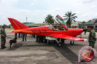 TNI AU Paksa Mendarat Pesawat Asing Terbang Tanpa Ijin