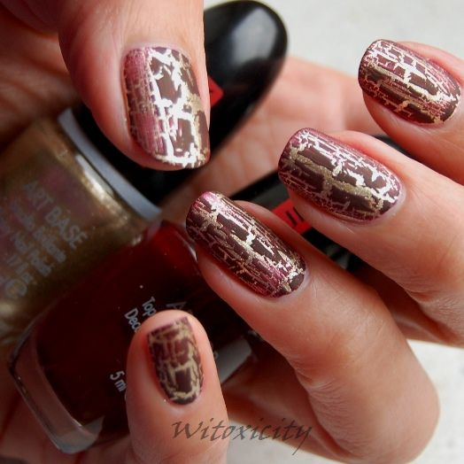 Adorned Nails Crackle Pupa Nail Art Kit Witoxicity