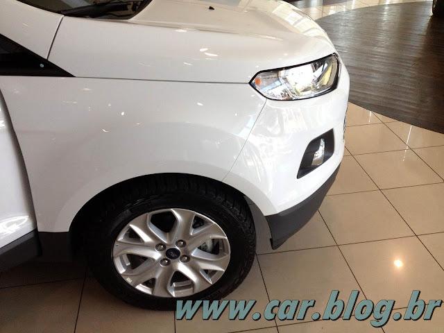 Novo Ford EcoSport 2013 - Rodas de 16 polegadas