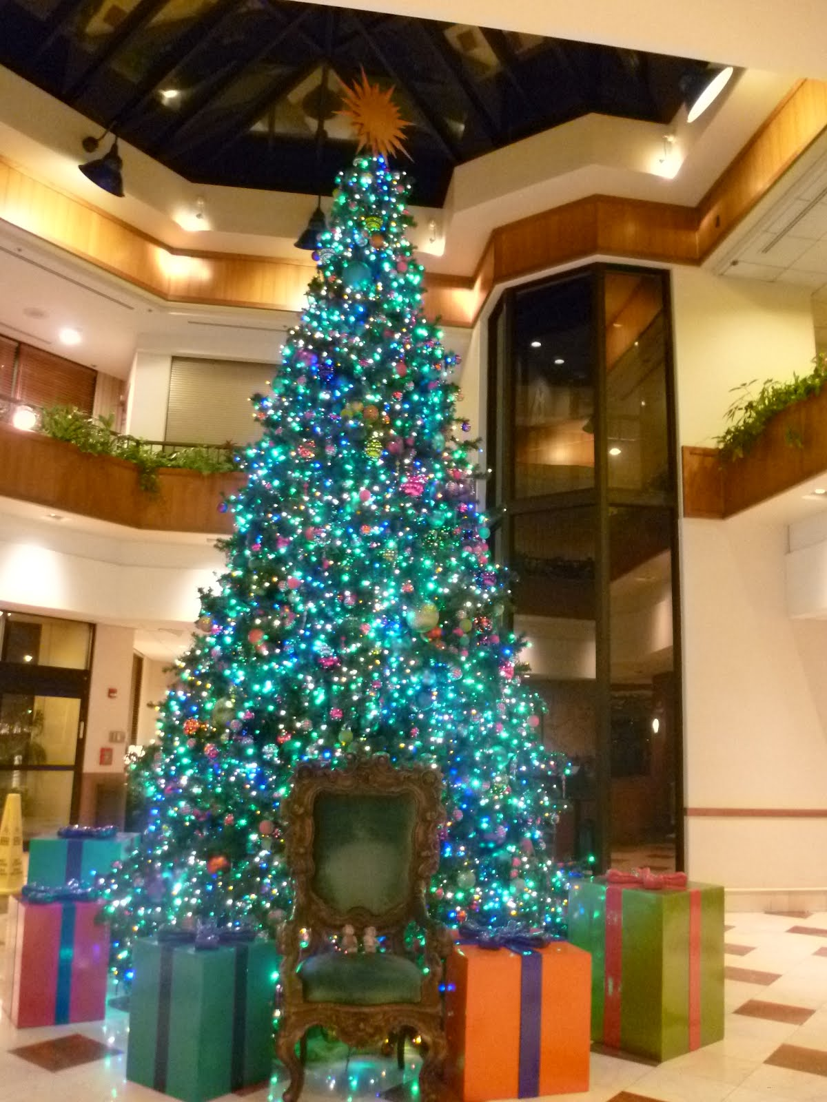 Daily Duffy: Christmas Tree at the Paradise Pier Hotel