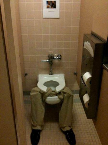 Imagenes De Baño Ocupado:Funny Toilet Pranks
