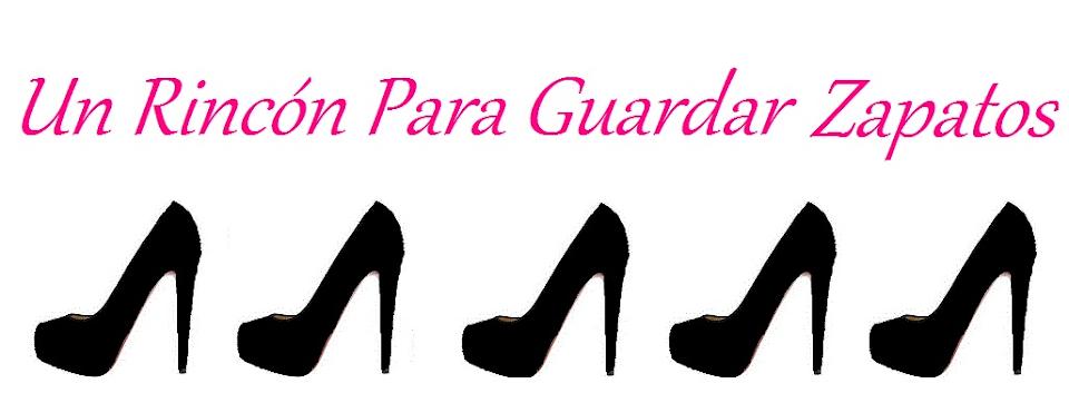 Un rincón para guardar zapatos