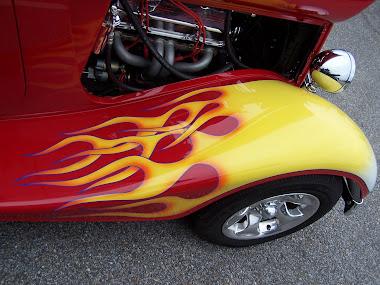 Flamed Fender