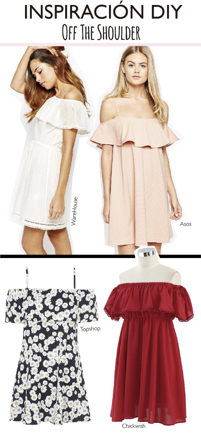 Off the shoulder!! El vestido #DIY más fácil del mundo 3.0 | Dare to ...