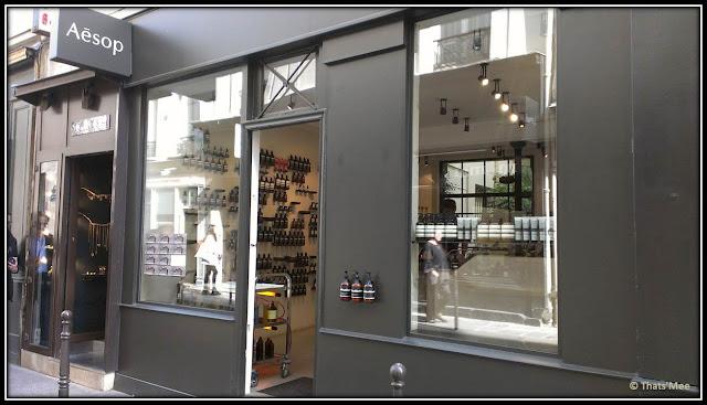 Aesop boutique du Marais, Paris
