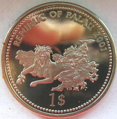 Palau money currency Dollar